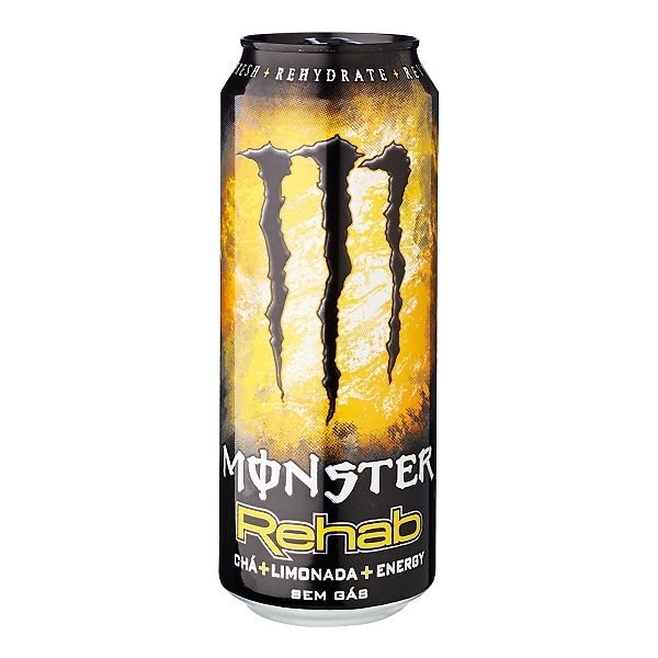 Monster Rehab Lemon