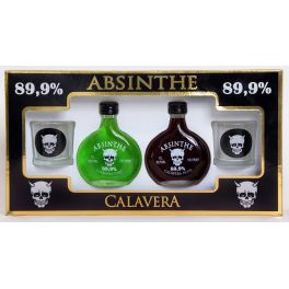 Calavera Miniatura Boxed Bottle