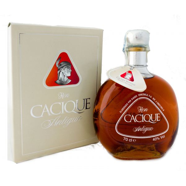 Cacique Antiguo Boxed Bottle