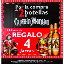 Capitan Morgan Spiced Promobox