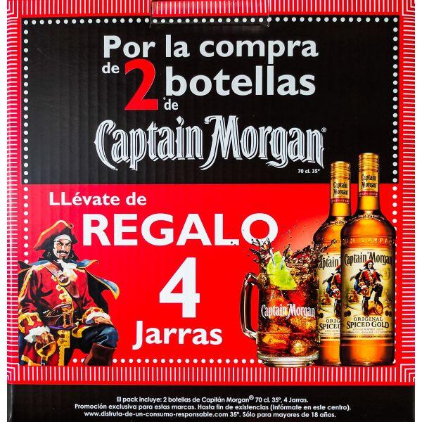 Promocaja Capitan Morgan Spiced