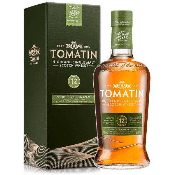 Tomatin 12 Years Boxed Bottle