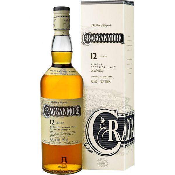 Cragganmore 12 Years Boxed Bottle