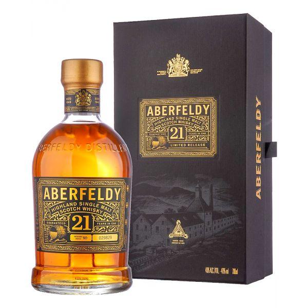 Aberfeldy 21 Years Boxed Bottle