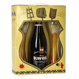 Box Pauwel Kwak One Bottle + 2 FREE Glasses