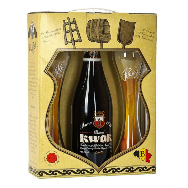 Box Pauwel Kwak One Bottle + 2 FREE Glasses