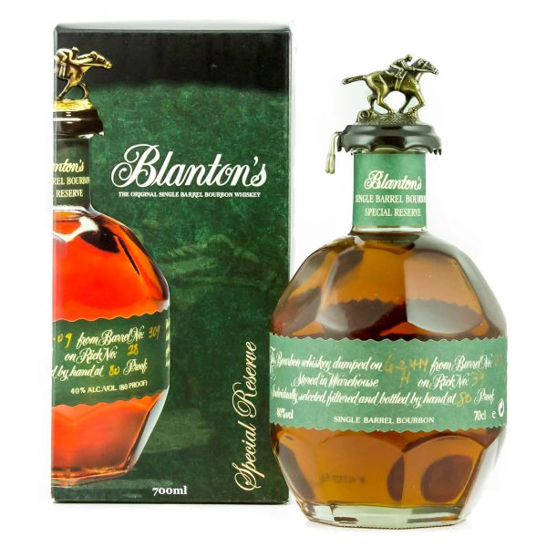 Blanton's Special Reserve Boxed Bottle