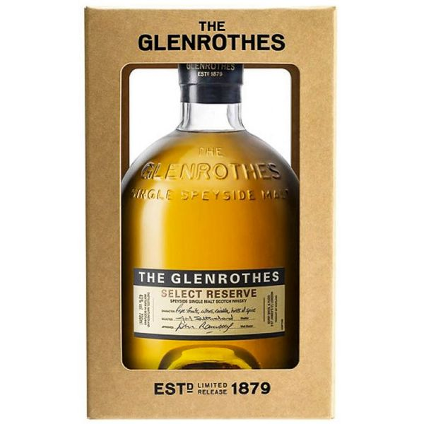 The Glenrothes Select Reserve Boxed Bottle