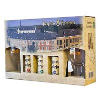 Box Trappistes Rochefort 3 Bottles + 2 Glasses