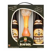 Box Pauwel Kwak 2 Bottles + Glass