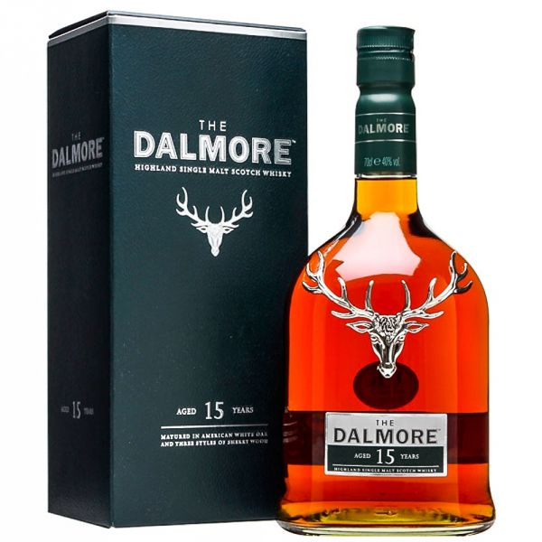 The Dalmore 15 Years Boxed Bottle
