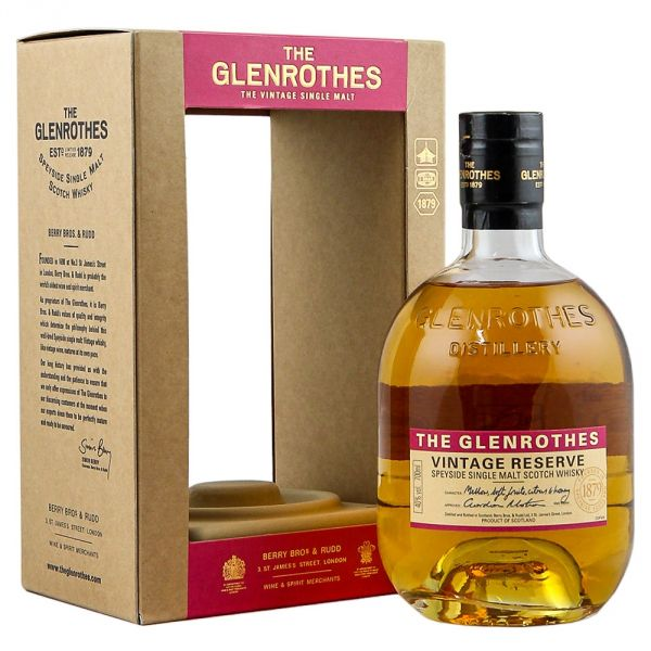 The Glenrothes Vintage Reserve Boxed Bottle