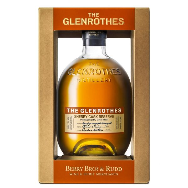 The Glenrothes Sherry Cask Reserve Boxed Bottle