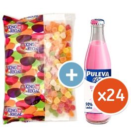 Puleva Strawberry Family Pack with Free Jelly Beans