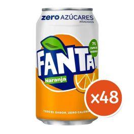 Fanta Orange Zero Family Pack with Free Shipping