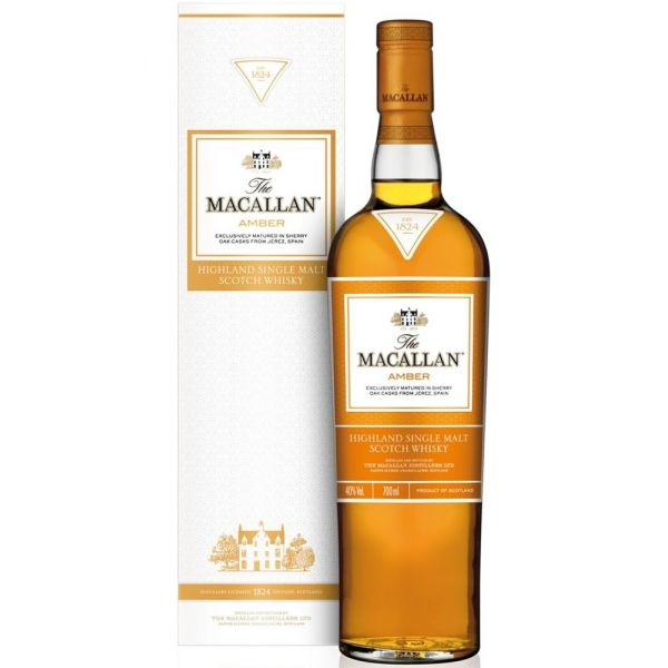 Macallan Amber Boxed Bottle