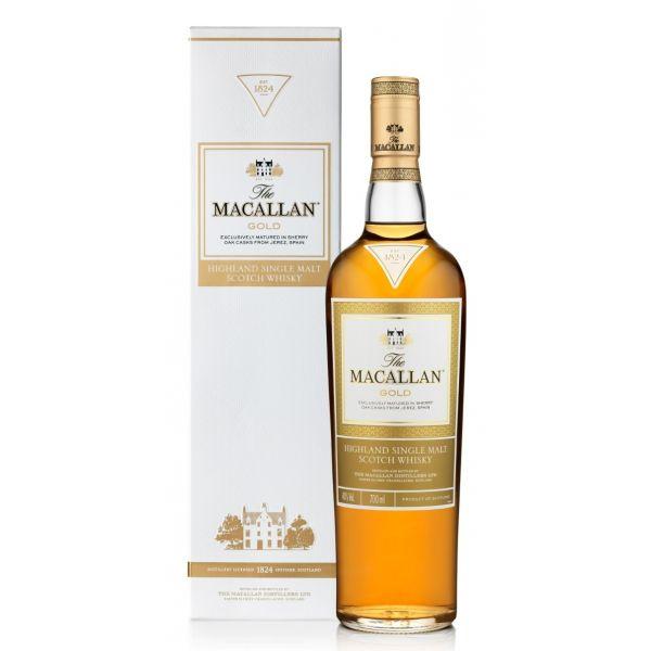 Macallan Gold Boxed Bottle