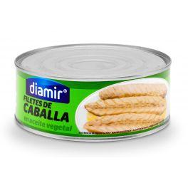 Mackerel Fillets in Vegetable Oil Diamir