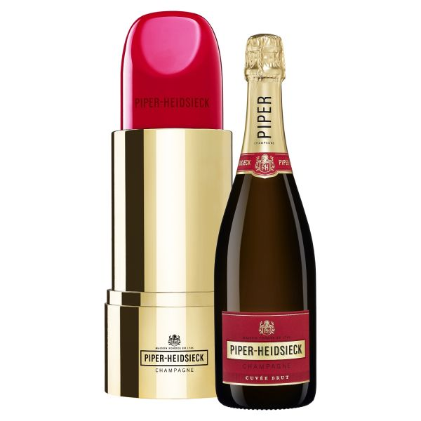 Piper-Heidsieck Cuvée Brut Lipstick Special Edition