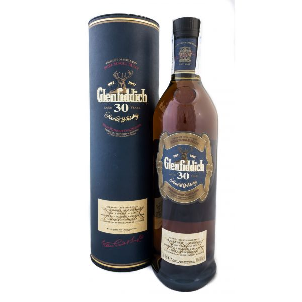 Glenfiddich 30 years Boxed Bottle