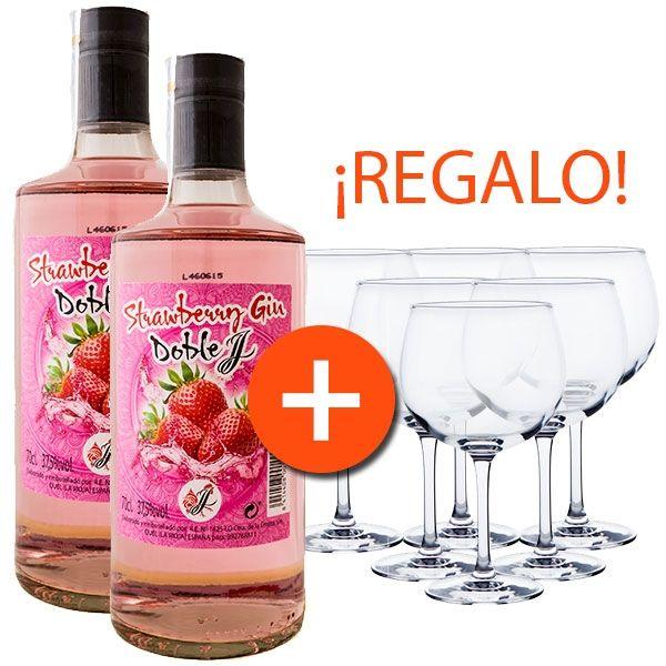 Promo Strawberry Gin Jota & Jota