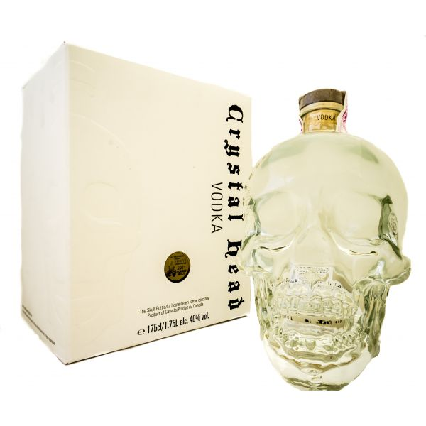 Crystal Head Boxed Bottle