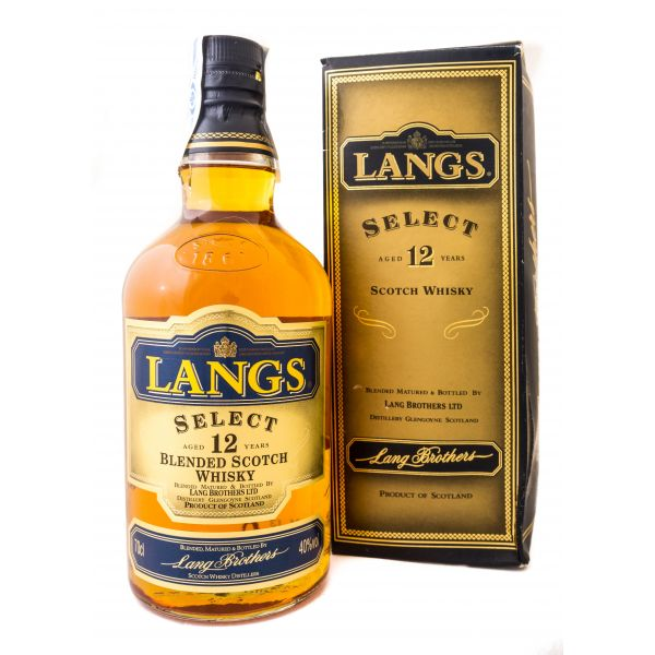 Langs Select 12 Years Boxed Bottle