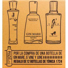 Promocaja G'vine, Gin Mare y June