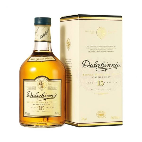 Dalwhinnie 15 Years Boxed Bottle