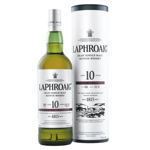 Laphroaig 10 Años Estuchado