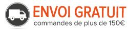 livraison gratuite à partir de 150 euros