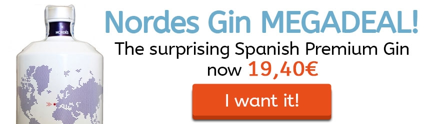 Nordes Gin Megadeal: The surprising Spanish Premium Gin now 19,40€