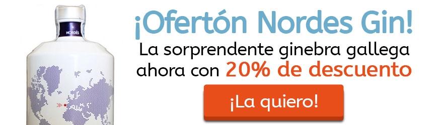 ¡Ofertón Nordes Gin! 20% de descuento
