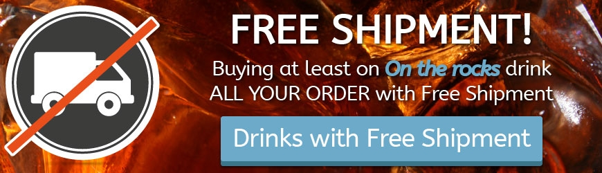 Free shipping buying at least on On the Rocks drinks