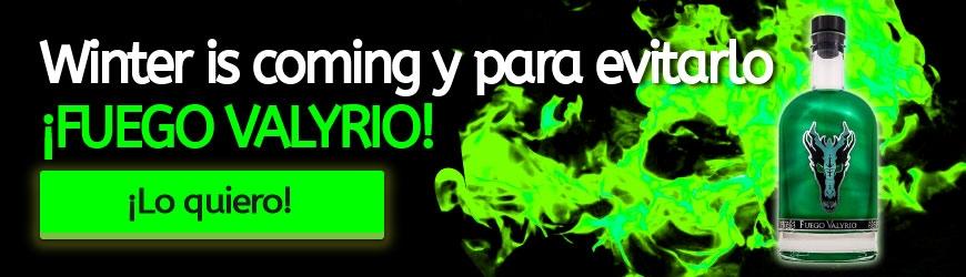 Fuego Valyrio: La bebida para los mejores Chupitos