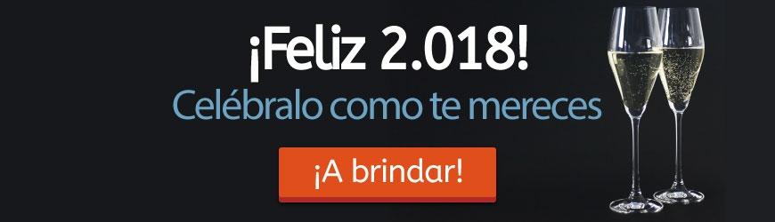 Feliz 2018: Celébralo como te mereces.
