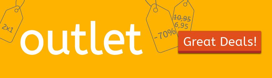 Outlet: get our super deals