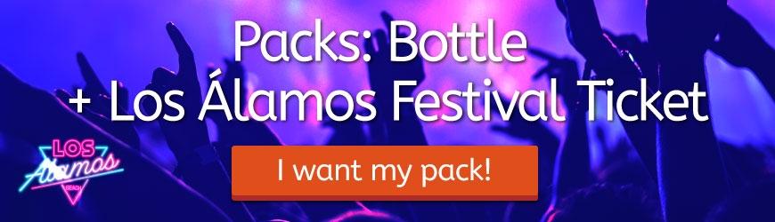 Packs: Bottle + Los Álamos Festival Ticket