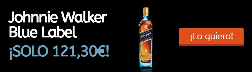 Whisky Johnnie Walker Blue Label en Oferta: Super precio