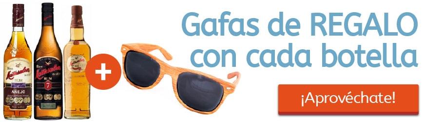 Por cada botella de Matusalem condigue unas gafas de sol Gratis